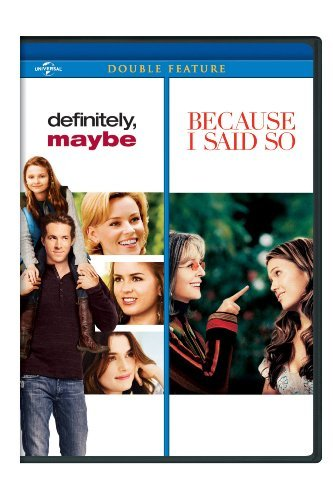 Definitely Maybe Because I Said So Double Feature Aws Pg13
