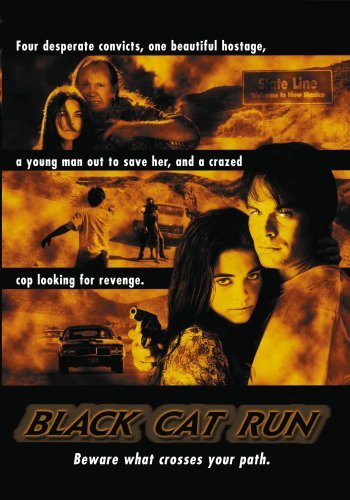 Black Cat Run Busey Heinle De Munn DVD R R