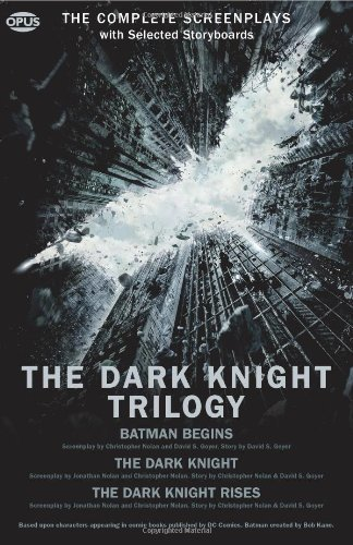 Christopher Nolan The Dark Knight Trilogy The Complete Screenplays
