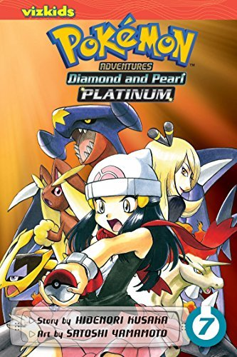 Hidenori Kusaka Pokemon Adventures Diamond And Pearl Platinum Volume 7