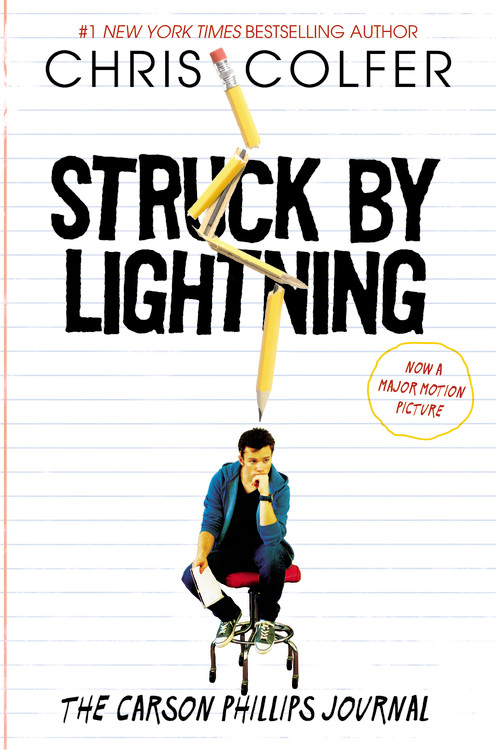 Chris Colfer Struck By Lightning The Carson Phillips Journal