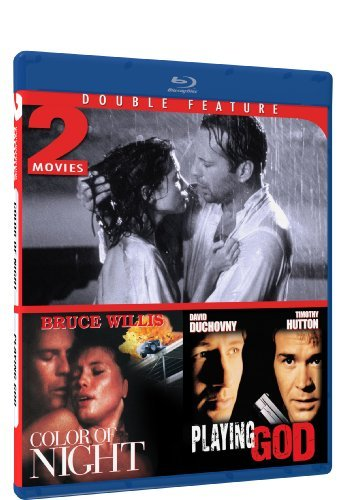 Color Of Night Playing God Willis Duchovny Hutton Jolie M Blu Ray Ws R