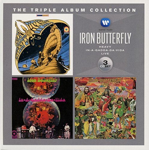Iron Butterfly Triple Album Collection Import Eu 3 CD