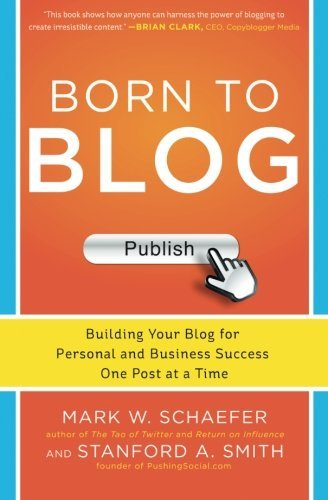 Mark Schaefer Born To Blog Building Your Blog For Personal And Business Succ