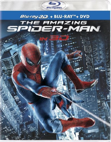 Amazing Spider Man (2012) 2d 3d Garfield Sheen Stone Blu Ray Ws Pg13 2 Br Incl. DVD Uv