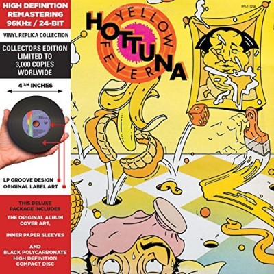Hot Tuna Yellow Fever Remastered Gatefold Jacket
