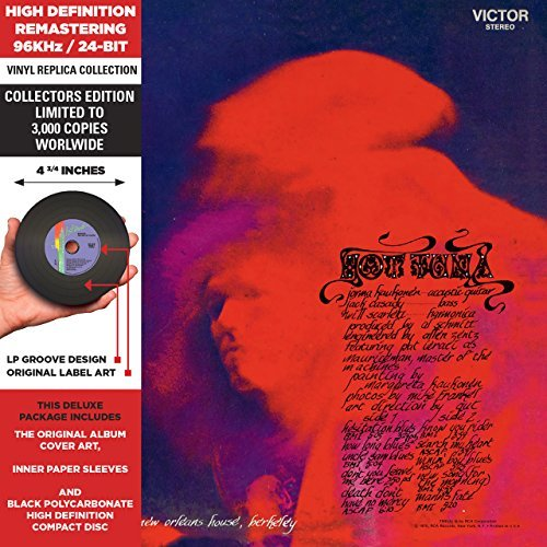 Hot Tuna Hot Tuna Remastered Gatefold Jacket