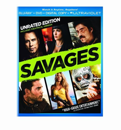 Savages Kitsch Lively Trovolta Blu Ray Ws R Incl. DVD