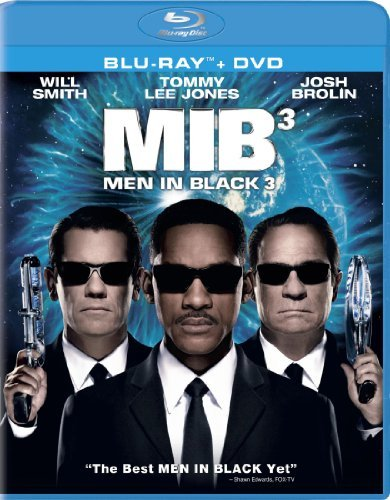 Men In Black 3 Jones Smith Blu Ray Ws Pg13 Incl. DVD Uv