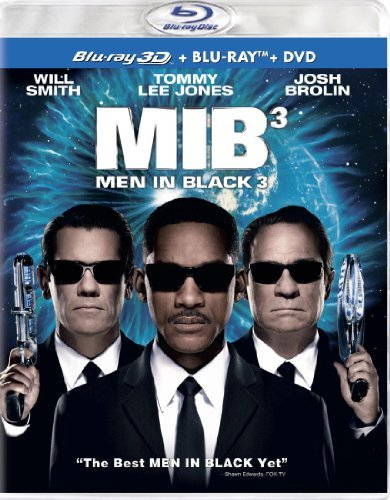 Men In Black 3 3 D Jones Smith Blu Ray Ws Pg13 Incl. DVD Uv