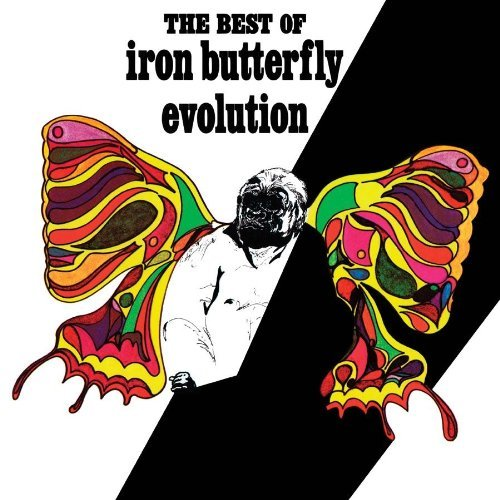 Iron Butterfly Evolution The Best Of The Iron 180gm Vinyl Lmtd Ed.