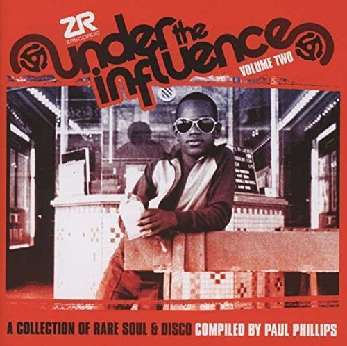 Under The Influence Volume 2 Compiled By Paul Phillips 2 CD