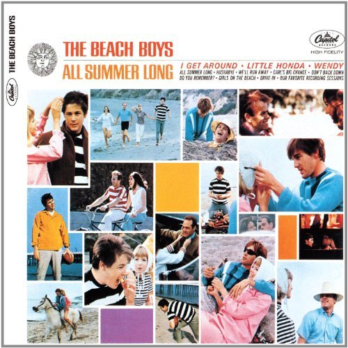 Beach Boys All Summer Long (mono & Stereo Remastered Digipak Book