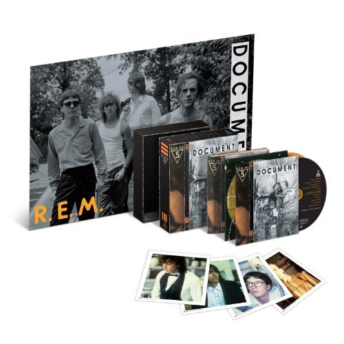 R.E.M. Document 25th Anniversary 2 CD Lift Top Box