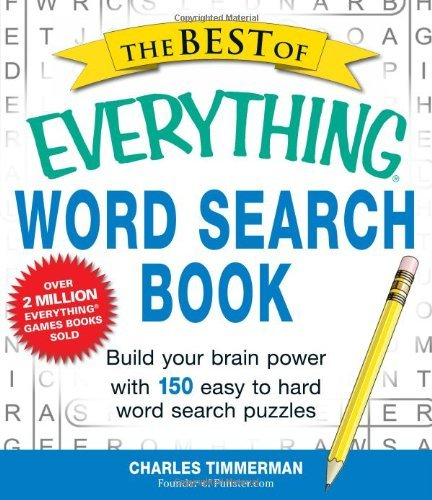 Charles Timmerman The Best Of Everything Word Search Book Build Your Brain Power With 150 Easy To Hard Word