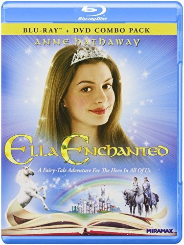 Ella Enchanted Hathaway Dancy Elwes Blu Ray Ws Pg Incl. DVD