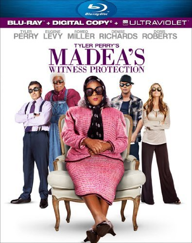 Madea's Witness Protection Tyler Perry Blu Ray Dc Pg13 Ws
