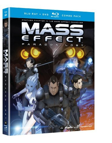 Mass Effect Paragon Lost Mass Effect Paragon Lost Blu Ray Ws Tvma Incl. DVD