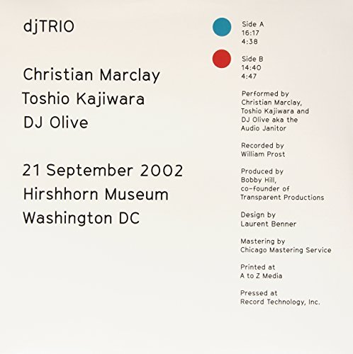 Toshio Kajiw Christian Marclay 21 September 2002