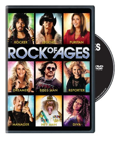 Rock Of Ages Hough Cruise Brand DVD Pg13 Ws