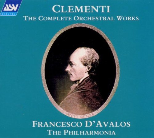 M. Clementi Orch Works Comp D'avalos Po