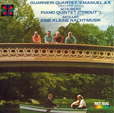 "Guarneri Quartet Schubert Piano Quintet ""trout""; Mozart Eine Klei"