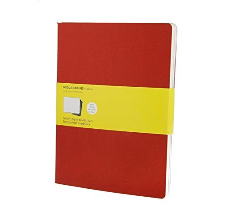 Moleskine Moleskine Cahier Journal (set Of 3) Extra Large