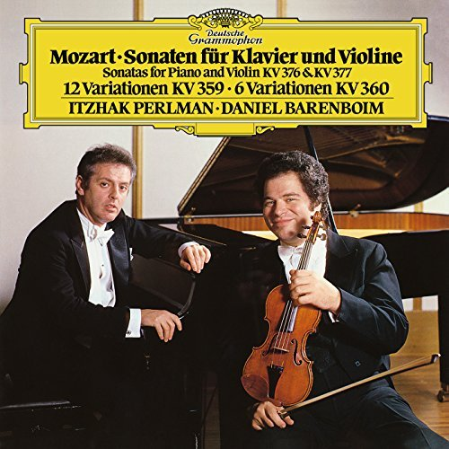 W.A. Mozart Sons For Piano & Violin