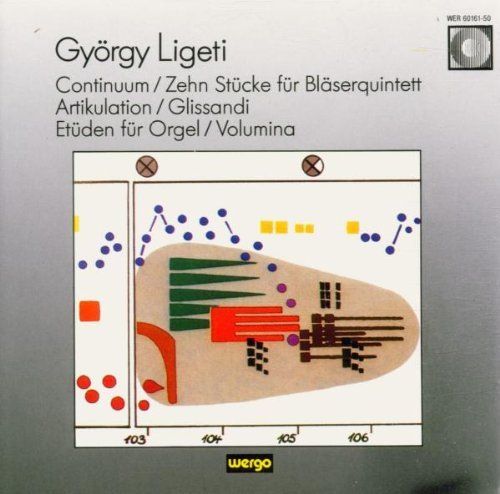 G. Ligeti Continuum. 10 Pcs For Winds.Ar Various