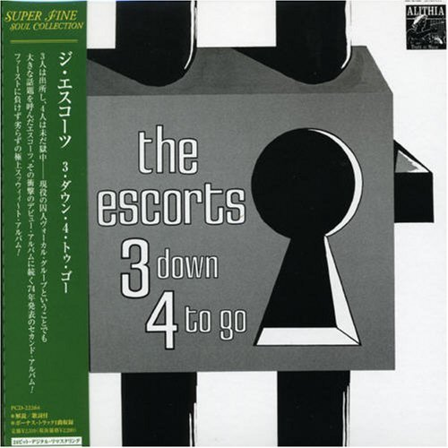 Escorts 3 Down 4 To Go (mini Lp Sleeve Import Jpn Lmtd Ed. Paper Sleeve