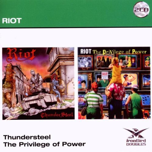 Riot Thunder Steel The Privelege Of Import Gbr 2 CD Set