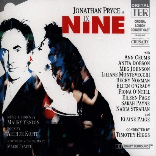 Nine The Concert Original London Cast Import Uk Music By Higgs