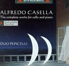 Casella A. Complete Works For Vc & Pno Duo Pepicelli