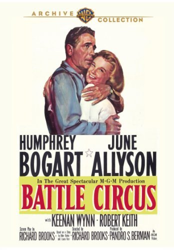 Battle Circus (1953) Bogart Allyson Wynn Made On Demand Nr