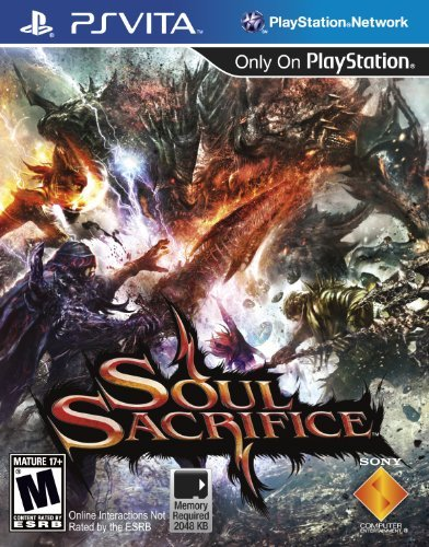 Playstation Vita Soul Sacrifice Sony Computer Entertainme