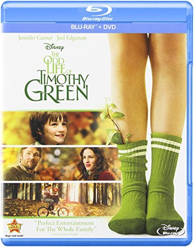 Odd Life Of Timothy Green Garner Edgerton Adams Blu Ray Ws Pg Incl. DVD