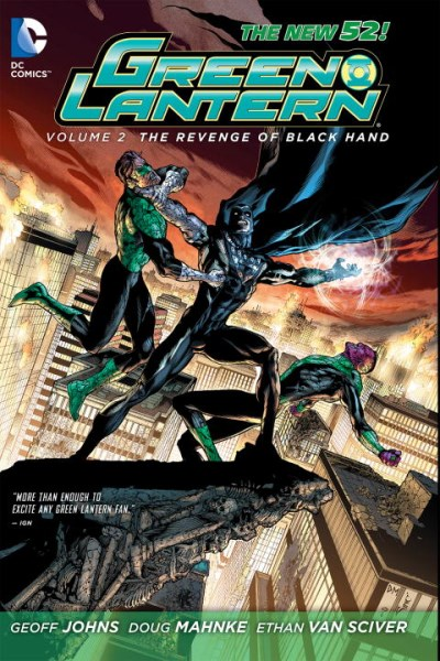 Geoff Johns Green Lantern Vol. 2 The Revenge Of Black Hand (the New 52)
