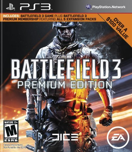 Ps3 Battlefield 3 Premium Edition M