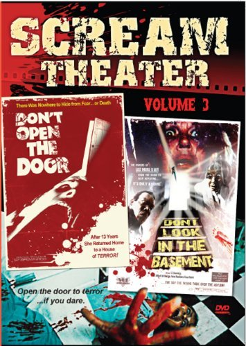 Vol. 3 Don't Open The Door Don Scream Theater Double Feature R