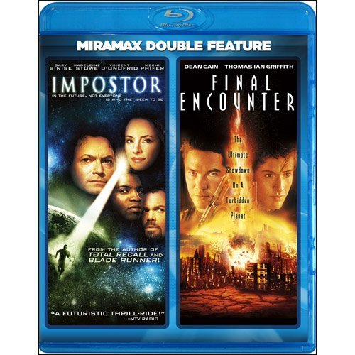 Impostor Final Encounter Sinise Stove Phifer Shalhoubde Blu Ray Ws R