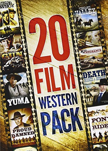 20 Movie Western Pack Walker Wayne Carradine Wayne Nr 4 DVD