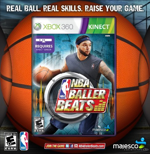 Xbox 360 Kinect Nba Baller Beats W Basketball Majesco Sales Inc. E10+
