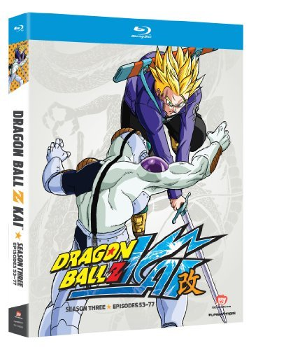 Dragon Ball Z Kai Season 3 Blu Ray Tvpg 4 Br