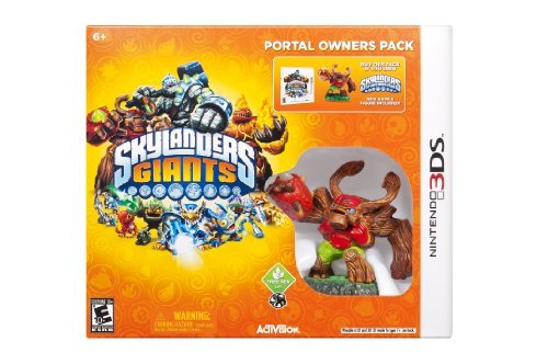 Nintendo 3ds Skylanders Giants Portal Owners Pack Does Not Include Portal