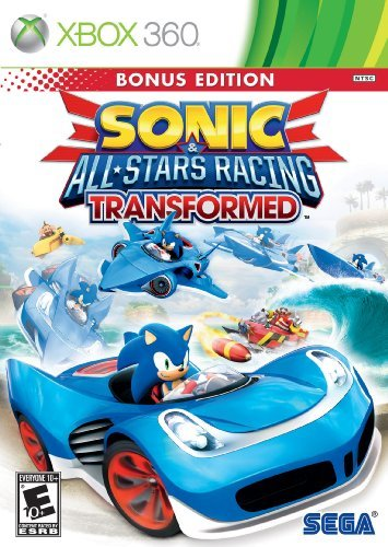 Xbox 360 Sonic & All Star Racing Transf Sega Of America Inc. E10+