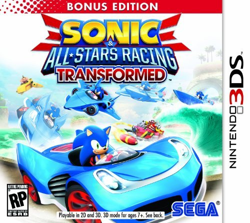 Nintendo 3ds Sonic & All Stars Racing Transformed