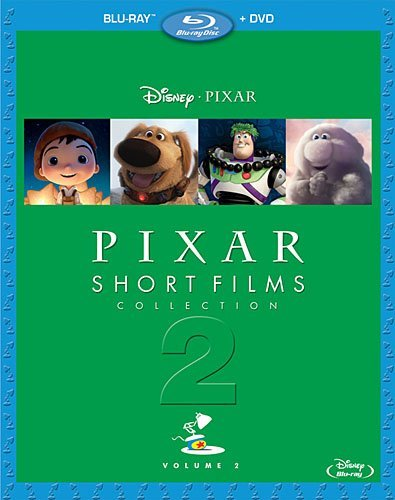 Pixar Short Films Volume 2 Blu Ray DVD G