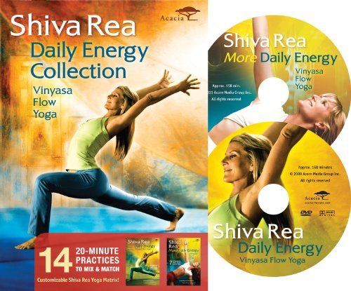Shiva Rea Daily Energy Collection Nr 2 DVD