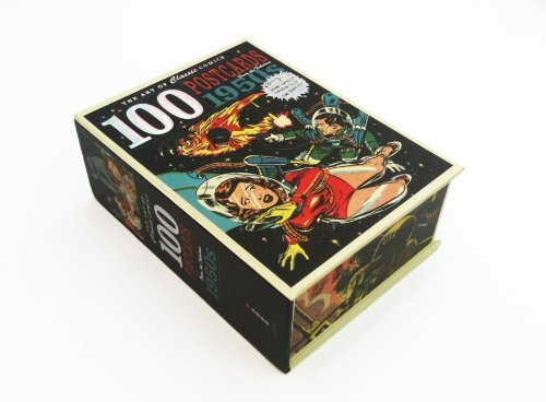 Ilex Press Art Of Classic Comics The 100 Postcards Fom The Fabulous 1950s General Box Of