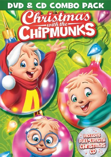 Alvin & The Chipmunks Christmas With The Chipmunks DVD CD Nr Incl. CD